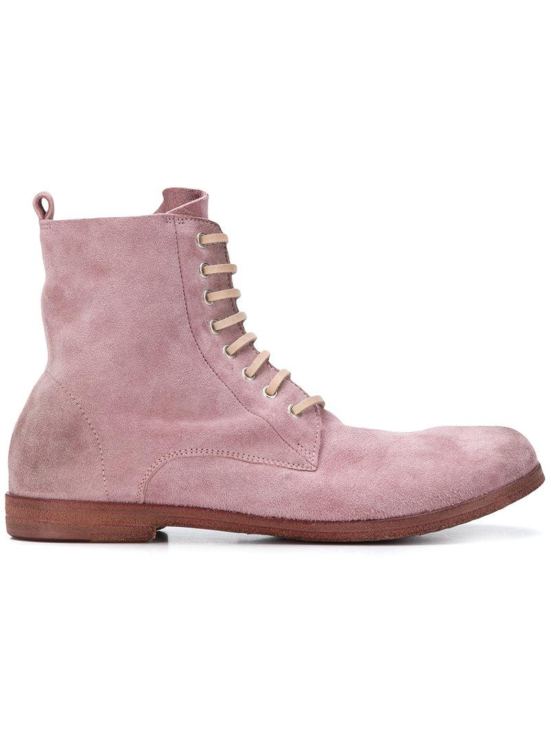 lace-up boots - Pink & Purple Mars XmQ0QuU5Tv