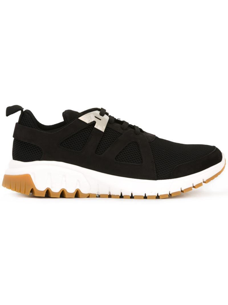 timeless design 7d366 b176c neil-barrett-Black-molecular-Runner-Sneakers.jpeg