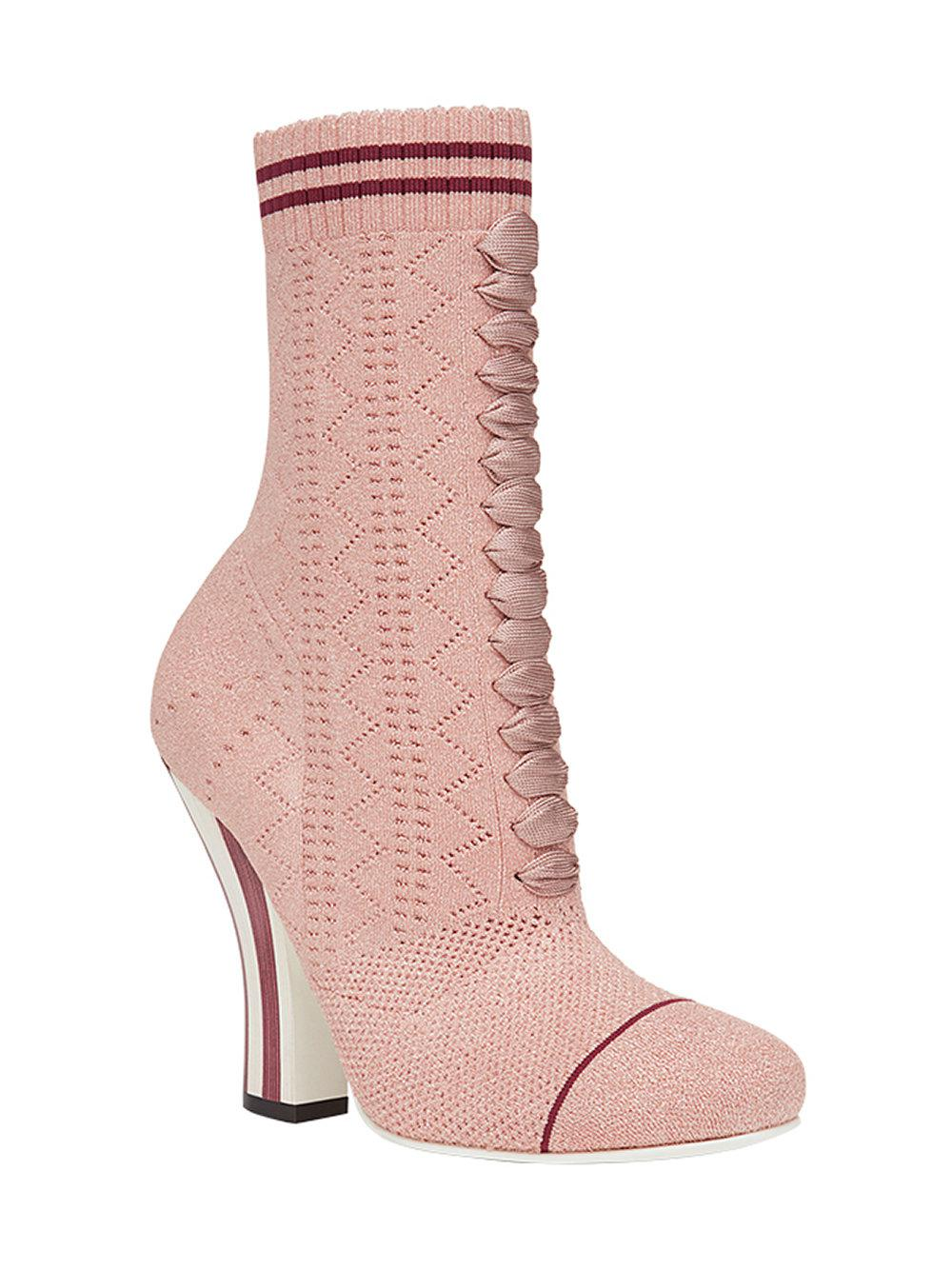 Fendi Stretch fabric boots Nx58jnym