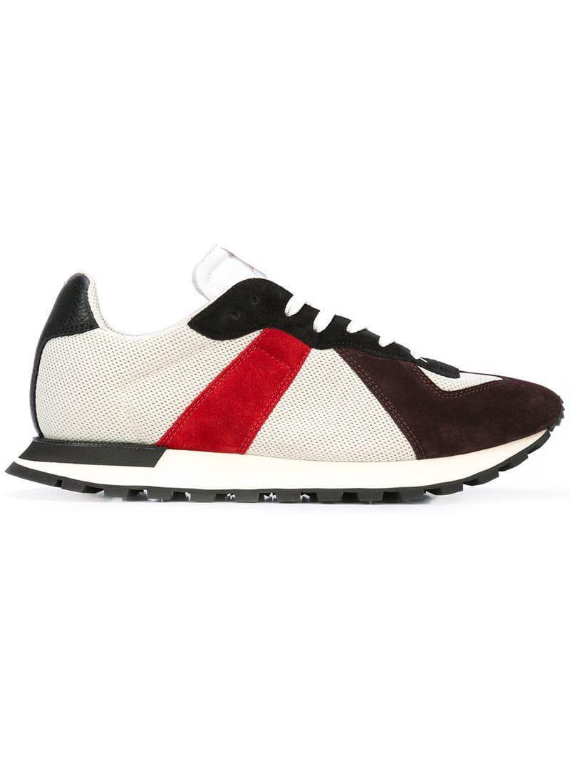 5bbcb088586e Maison Margiela Replica Runner Sneakers in Gray for Men - Lyst
