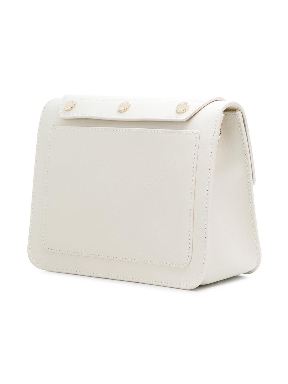 9885b738b8d47 Lyst - Furla Metropolis Magia Crossbody Bag in White