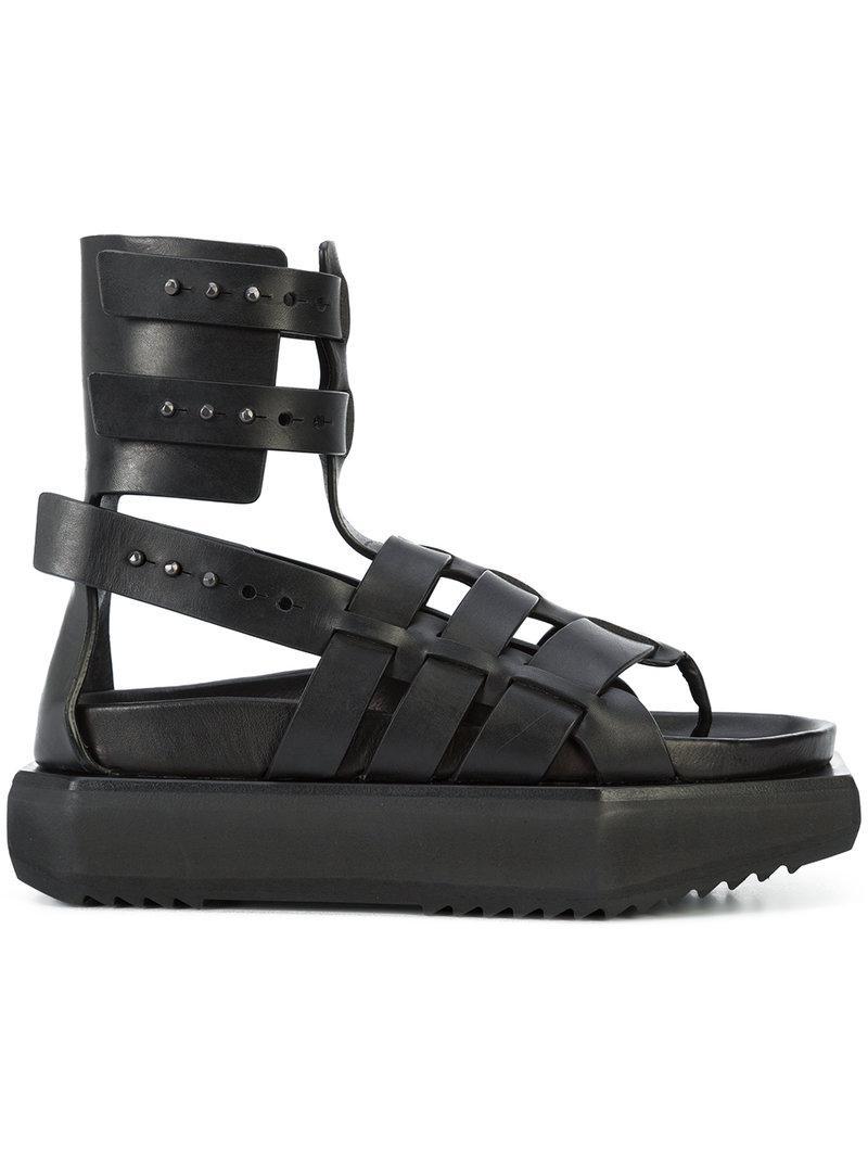 Rick Owens Cantilevered sandals - Black farfetch neri Visitar Nueva Línea Espacio Libre Para Agradable Venta Barata Extremadamente Clásico Aclaramiento Muy Barato Para La Venta OV2JwQ