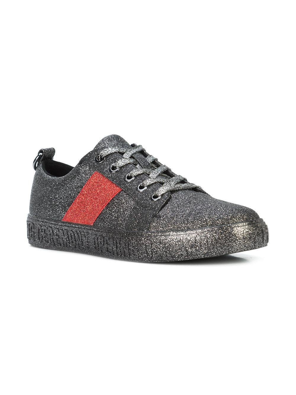 glitter flat sneakers - Black Opening Ceremony
