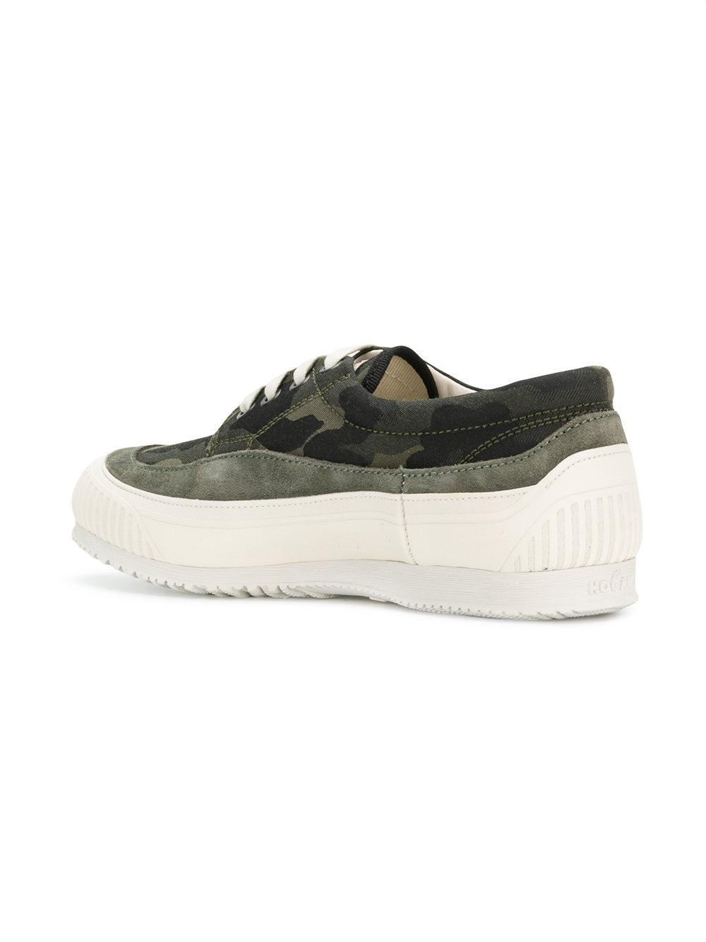lace-up sneakers - Green Hogan hJZuBX