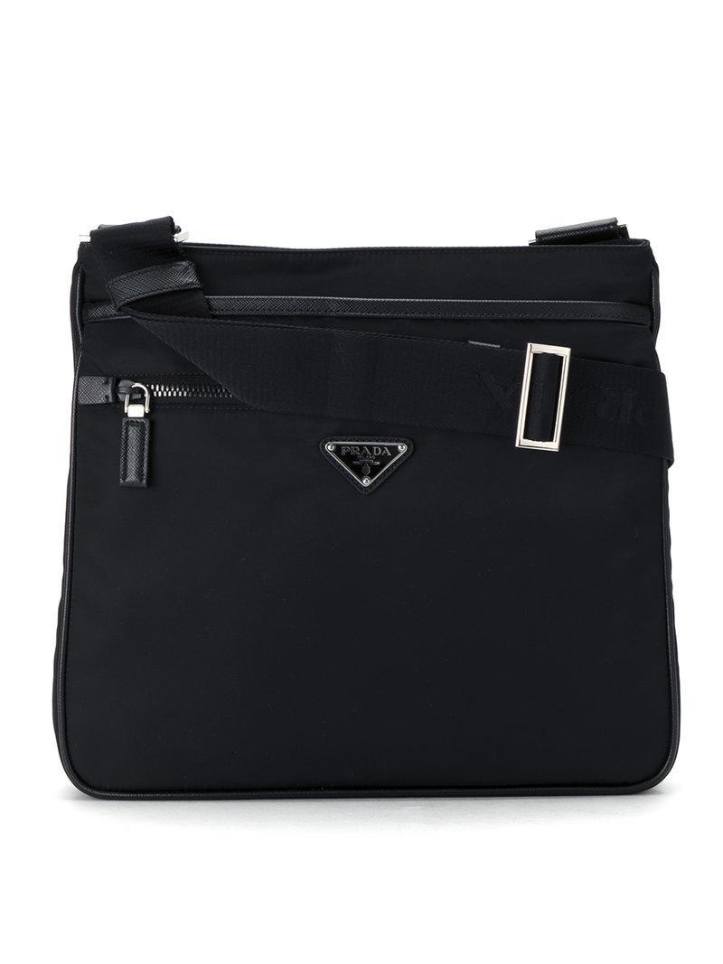69929ca2c56bf5 Prada 2vh251064vooo F0002 Synthetic->nylon in Black for Men - Lyst