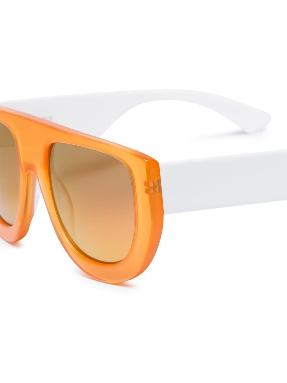 And Ganni Lyst Sunglasses In White Yellow Ines Orange HOOwSqT