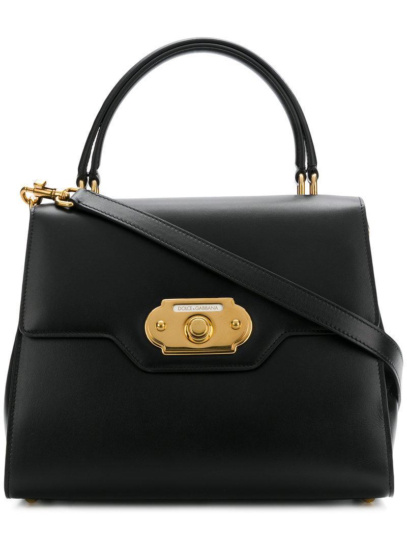d46bec57ef Lyst - Sac cabas Welcome Dolce & Gabbana en coloris Noir