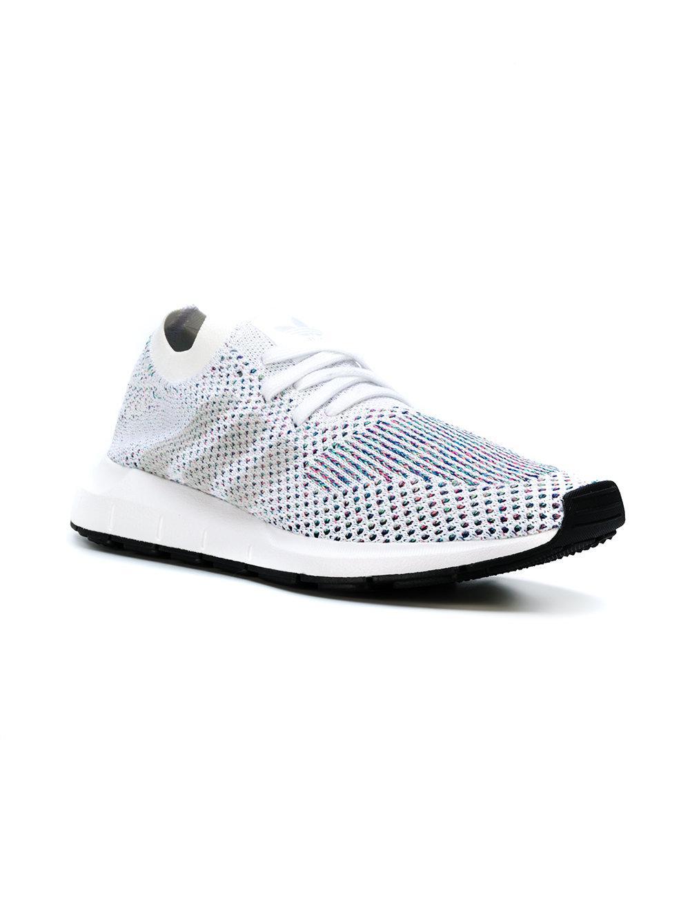Lyst Adidas Originali Swift Run Primeknit Scarpe Bianche