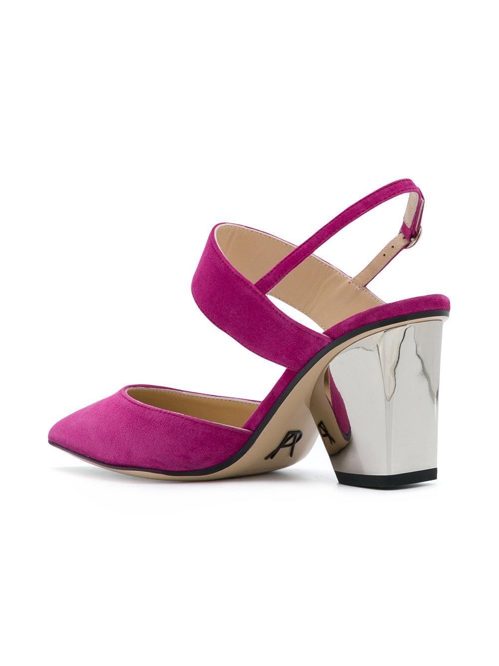 Pawson pumps - Pink & Purple PAUL ANDREW YCJiK3