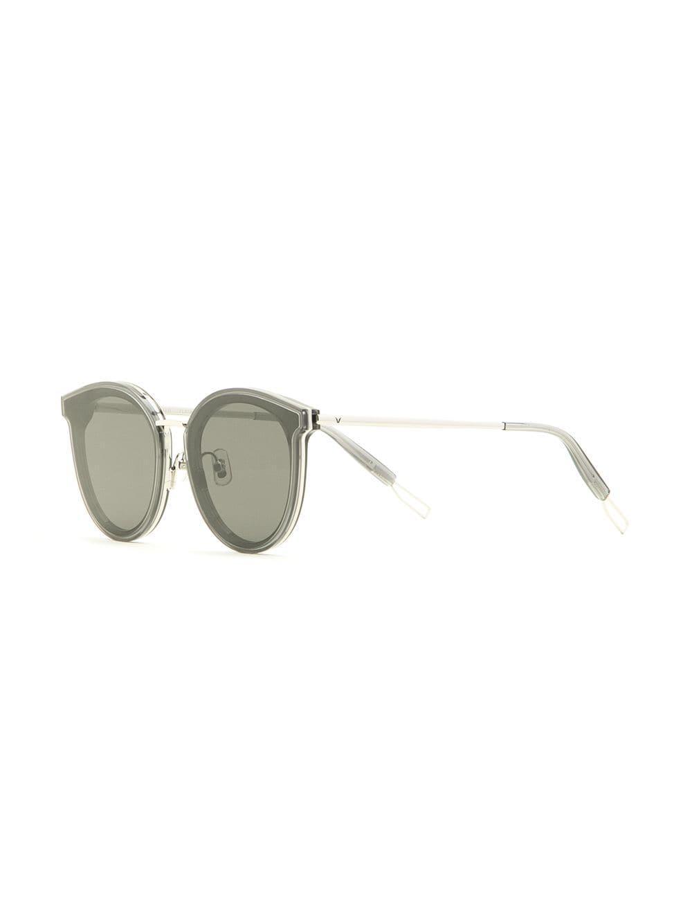 04fd476123 Gentle Monster - Gray Merlynn Round-frame Sunglasses - Lyst. View fullscreen