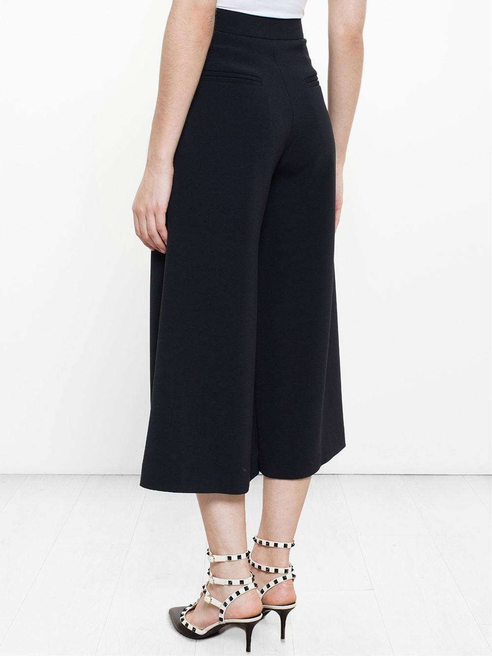 classic culottes - Black Roksanda Ilincic y70zd9hW