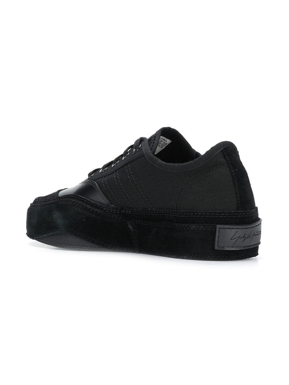 1dc119ed6 Yohji Yamamoto - Black X Adidas Contrast Logo Sneakers for Men - Lyst. View  fullscreen