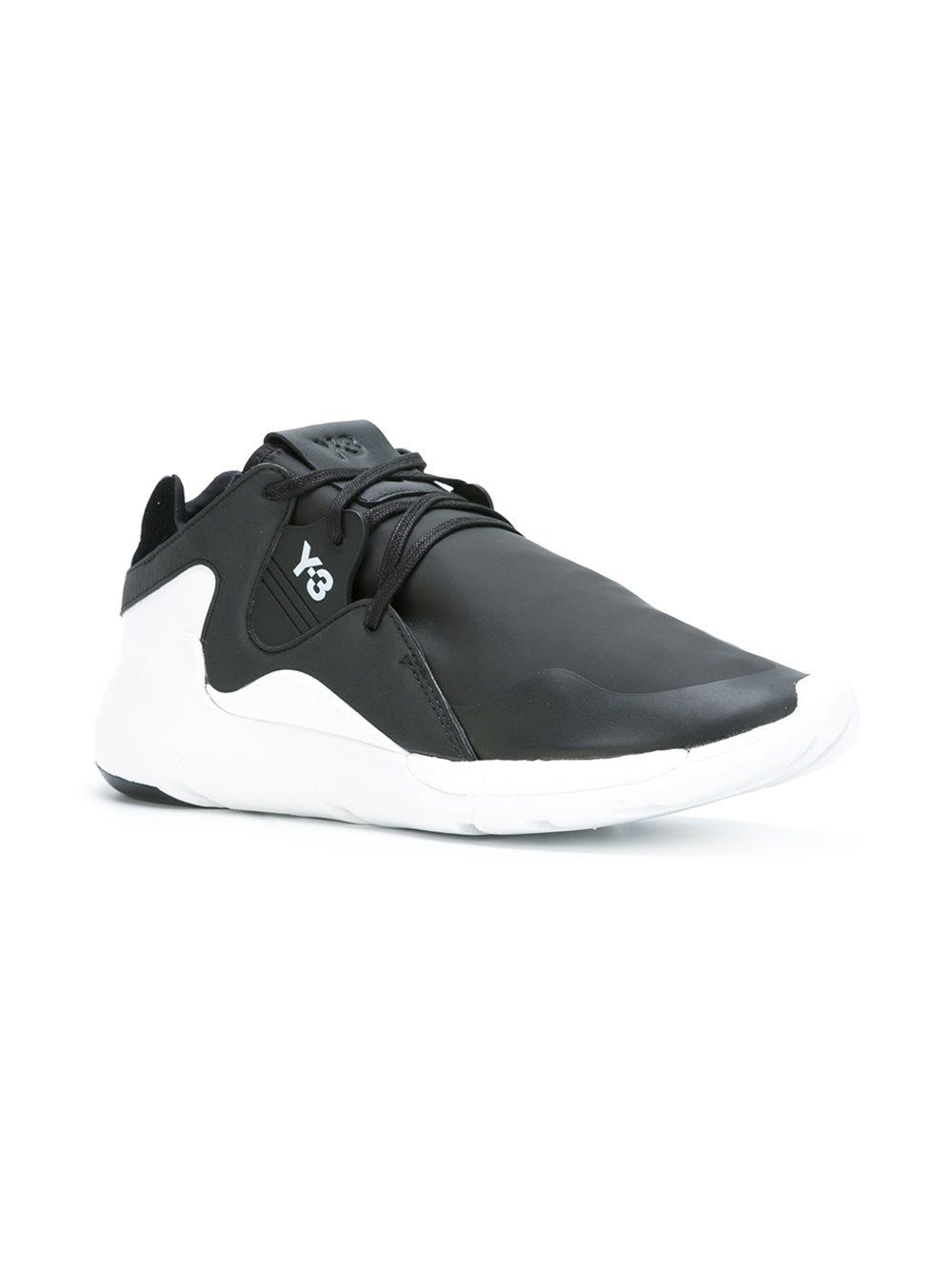 434c36863 Lyst - Y-3  QR Run  Sneakers in Black for Men