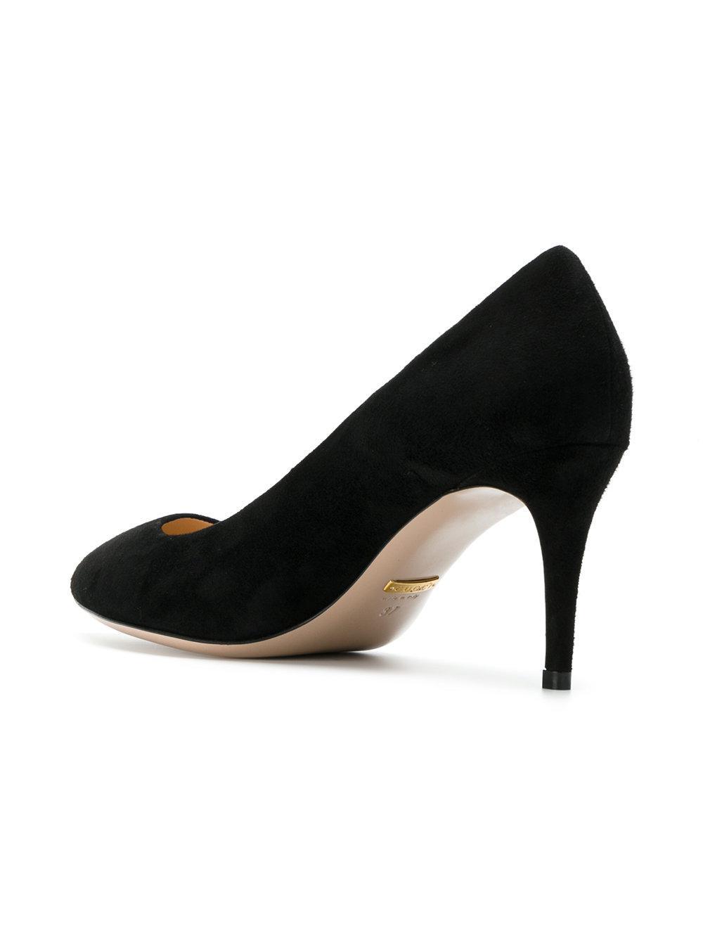 1ac8173ecc Gucci - Black Classic Pointed Toe Pumps - Lyst. View fullscreen