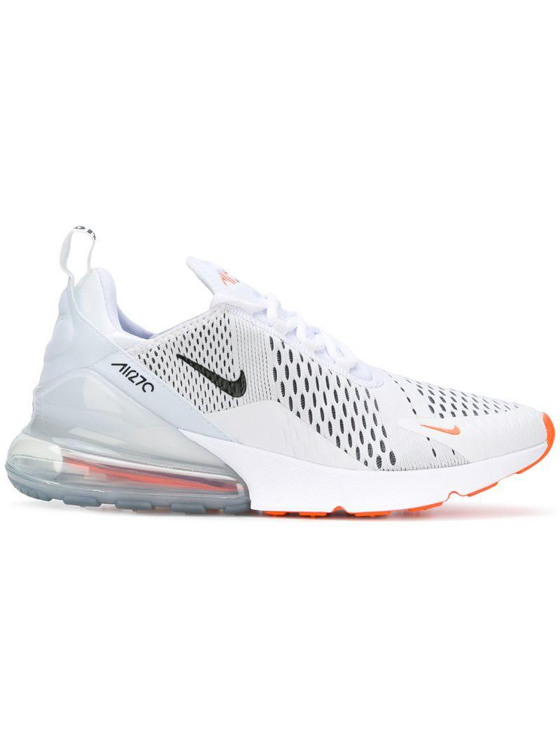 low cost 8fa8b 5adc3 Nike. Mens White Air Max 270 Sneakers