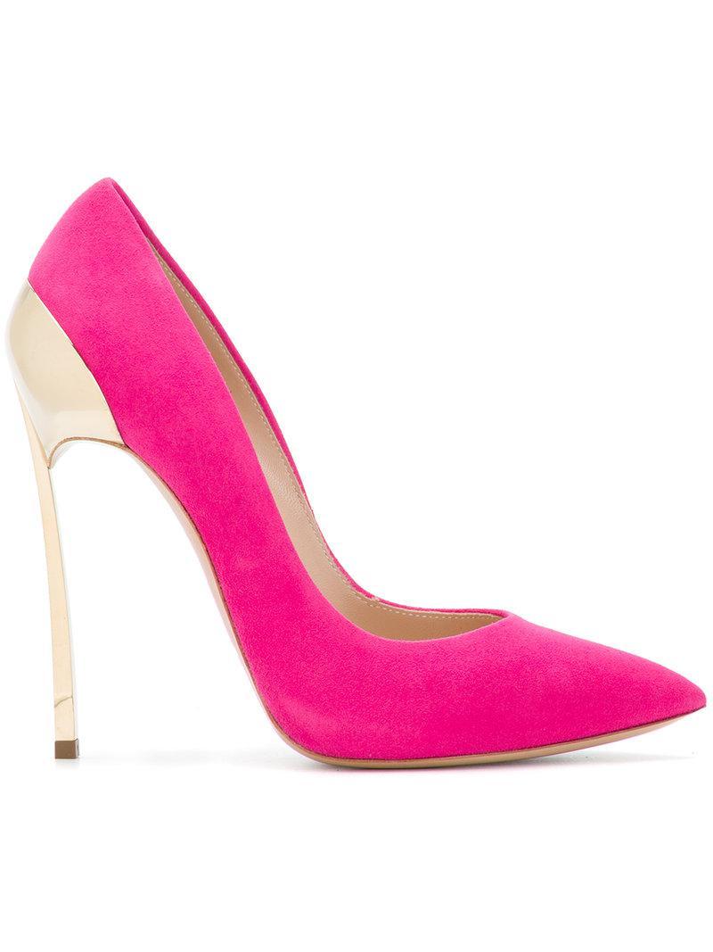 Casadei chunky chain pumps - Pink & Purple farfetch rosa 2018 Nueva En Venta Auténtica Venta En Línea Barato Gran Sorpresa Visitar El Nuevo Toma De Disfrutar hr8m8vy