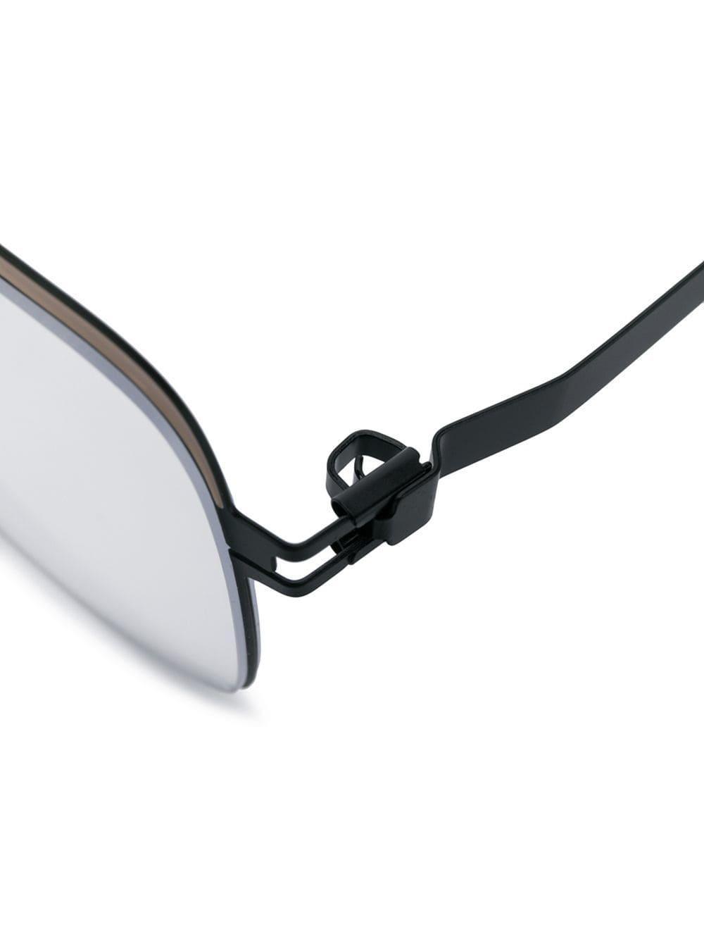 be4bf772de9e Mykita - Black Meryl Oversized Glasses - Lyst. View fullscreen