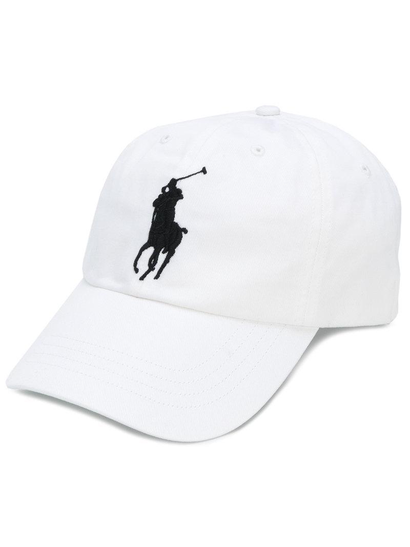 f99221d03416 Lyst - Casquette à logo brodé Polo Ralph Lauren pour homme en ...