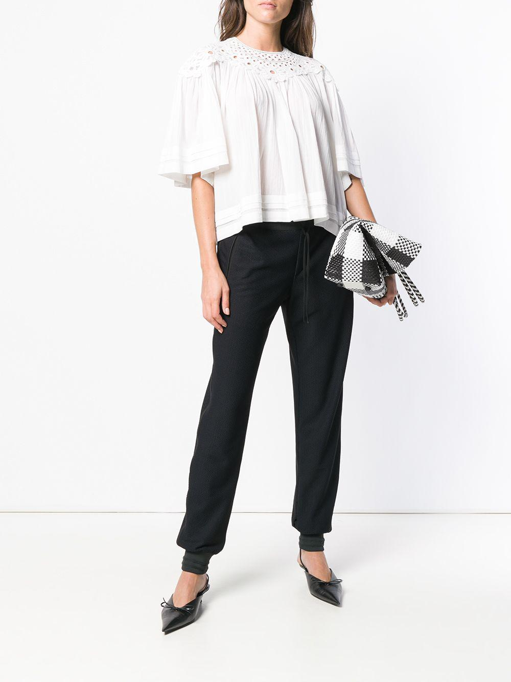 8ed09e66ff984f Étoile Isabel Marant Loose Fit Blouse in White - Lyst