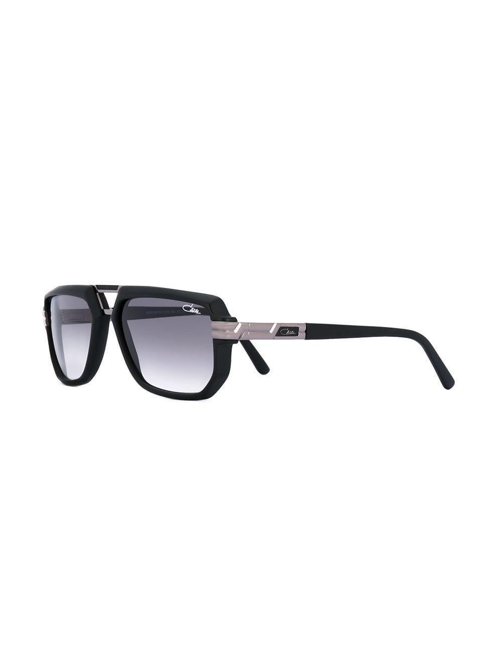 65fac5bc3a1 Cazal - Black Rectangle Frame Sunglasses for Men - Lyst. View fullscreen