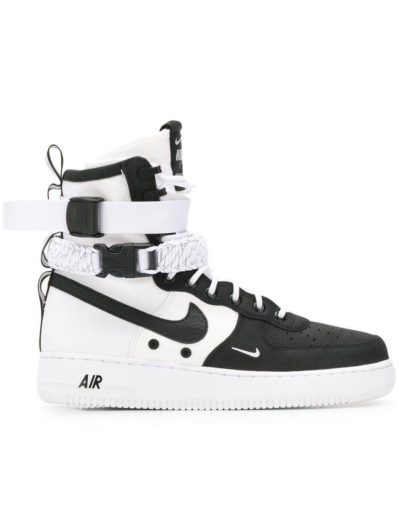 7698022761c Nike Sf-air Force 1 Trainers in Black for Men - Lyst