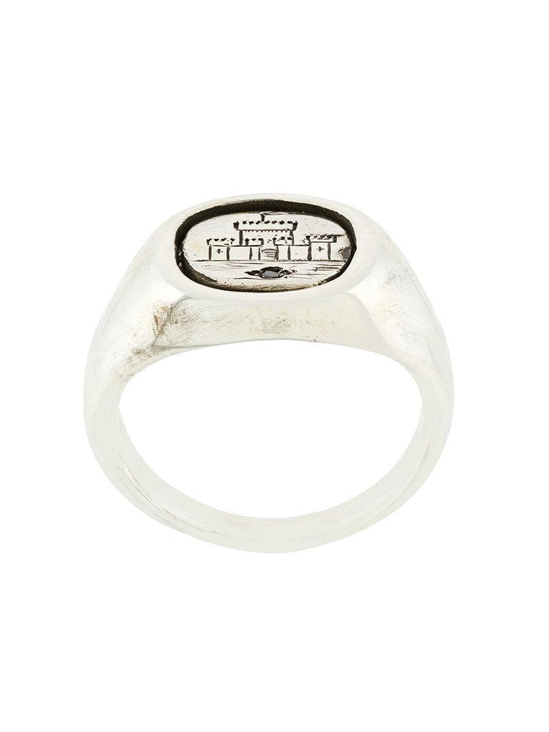 Henson rose diamond stack ring - Metallic KonODI