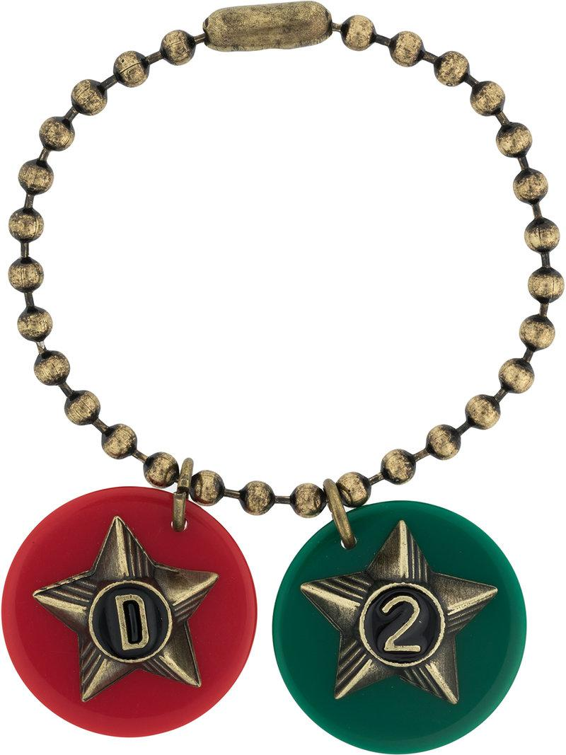 charm pendant ball chain - Metallic Dsquared2 fdM0mTRz