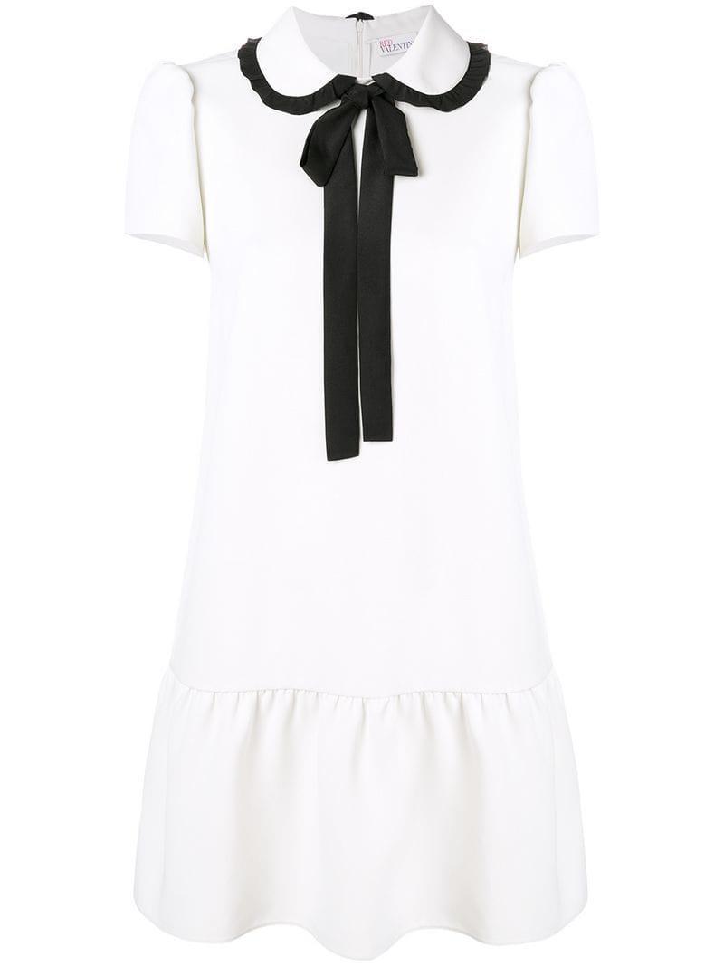 99b60ef5987b Red Valentino Techno Fluid Shirt Dress in White - Lyst