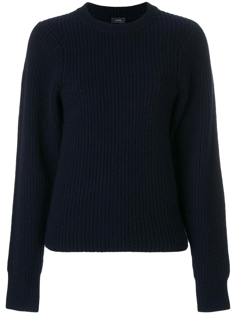 ribbed knit sweater - Blue Joseph Buy Cheap Inexpensive 564DA8