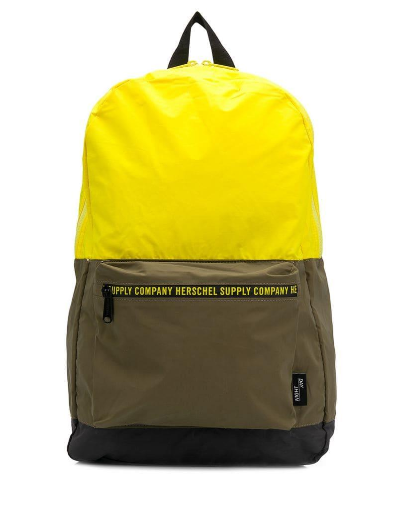 86e27a772f1 Lyst - Herschel Supply Co. Every Day Backpack in Yellow for Men