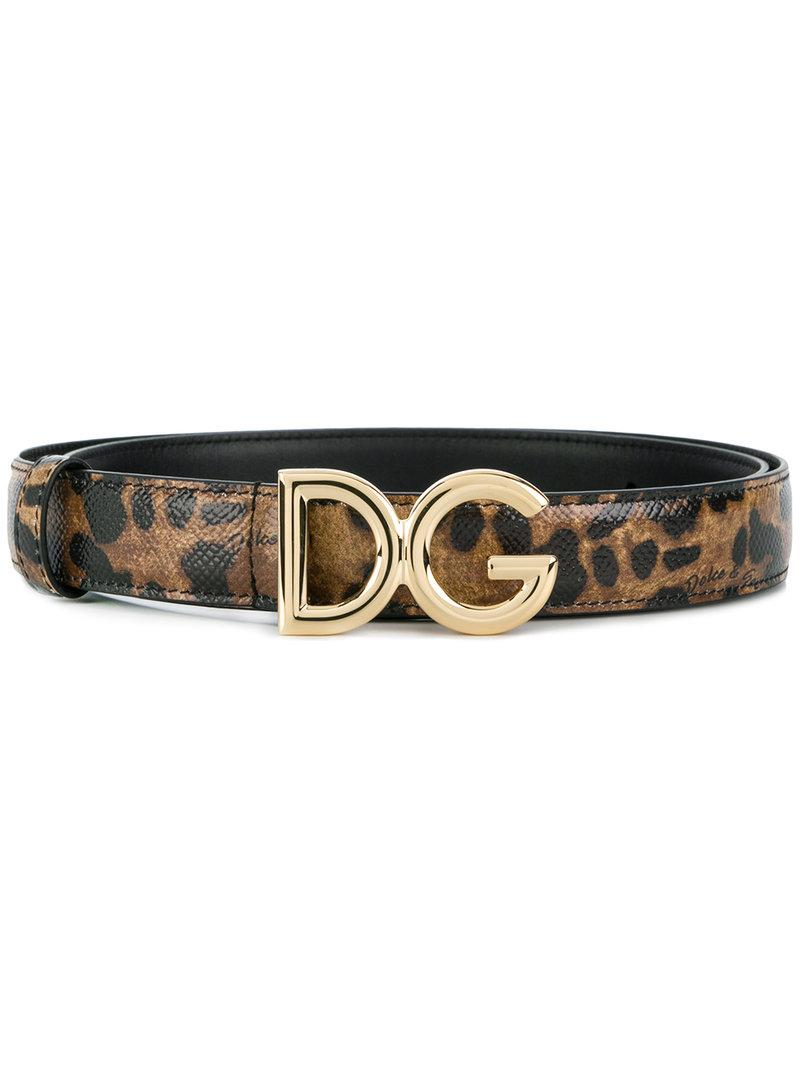 Dolce & Gabbana leopard print logo buckle belt Buy Cheap With Mastercard Discount The Cheapest Buy Cheap Clearance Free Shipping Largest Supplier 100% Authentic rYIeqV