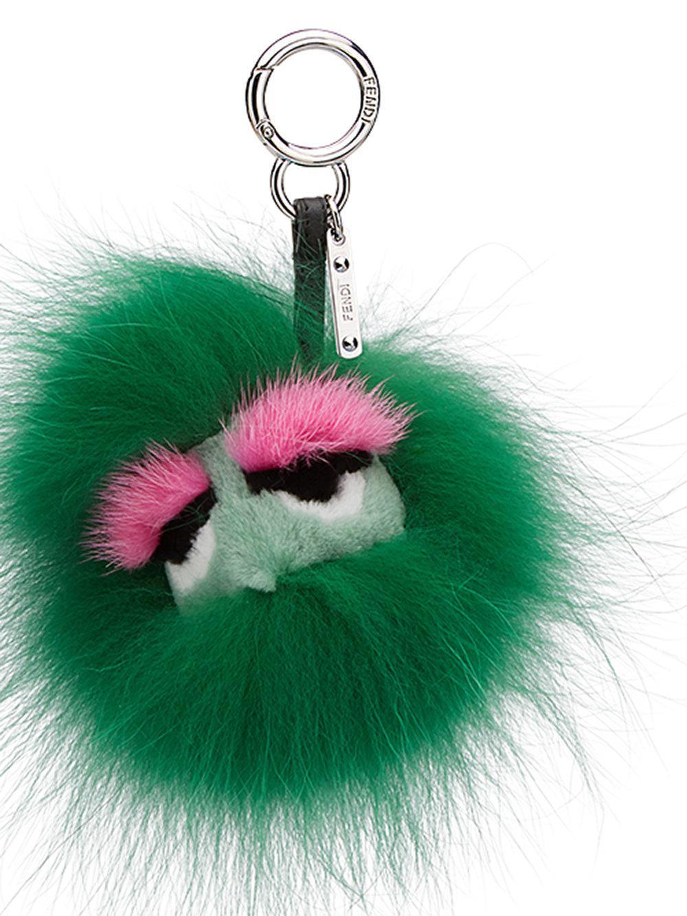 Fendi Dad Bag Charm - Green kZvvt