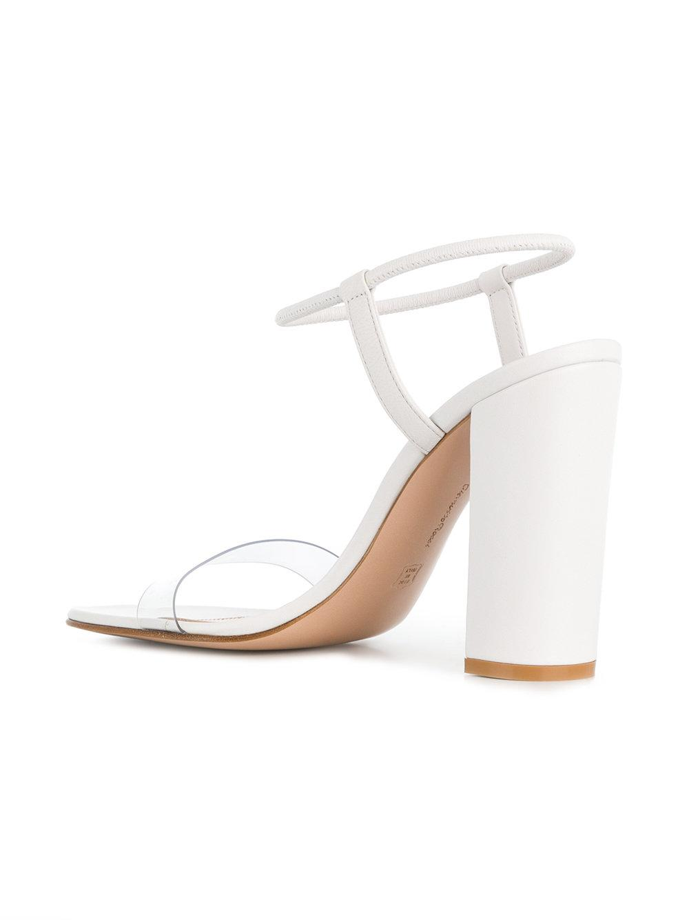 Yeezy transparent strap sandals - Black farfetch Estate Envío Libre Mejor Lugar 7sqRwPNR