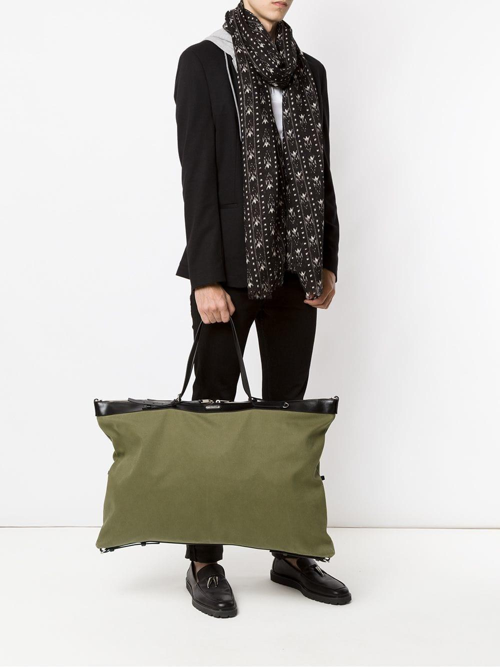 e875e9bfc30c Saint Laurent Id Tote Bag in Green for Men - Save 28.18911685994648% - Lyst