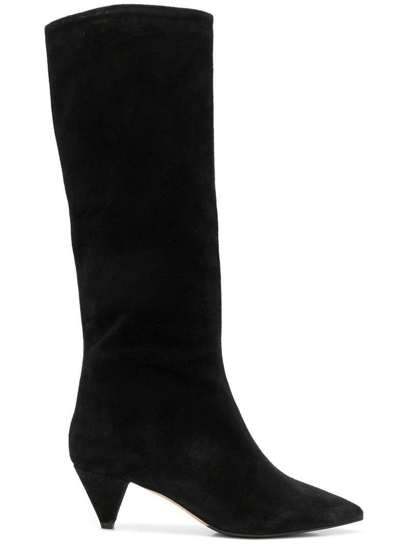d759aeeb78c Lyst - The Seller Knee-high Boots in Black