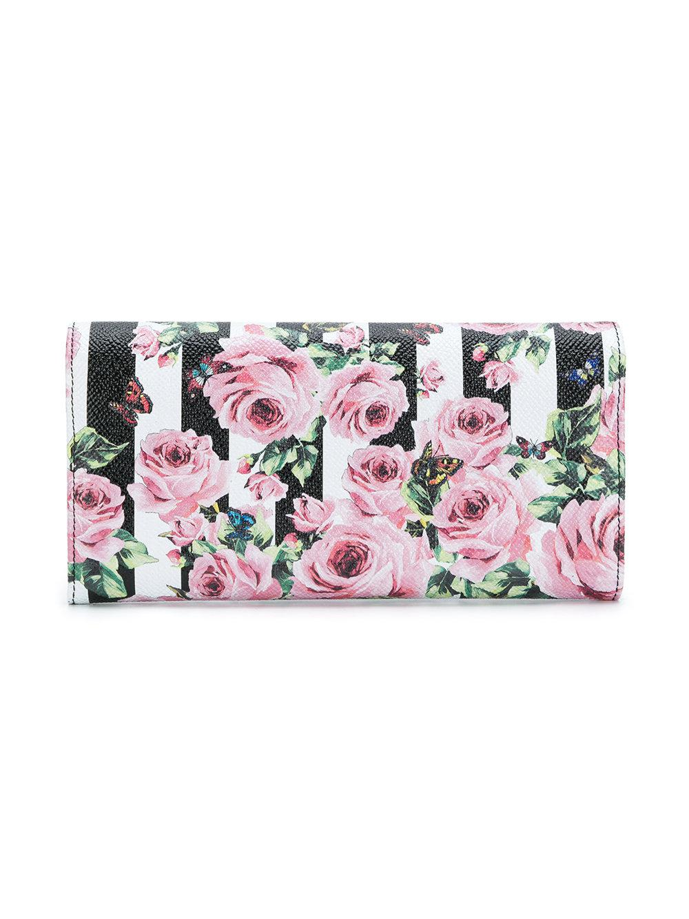 printed striped continental wallet - Multicolour Dolce & Gabbana 609sMloSGG