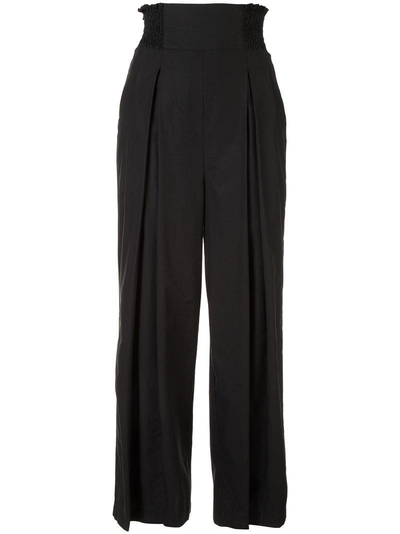 Sale Huge Surprise pleated cropped trousers - Black Rachel Comey Online Cheap Online Sale Shop Offer Explore Cheap Price Outlet Pick A Best SAuyq