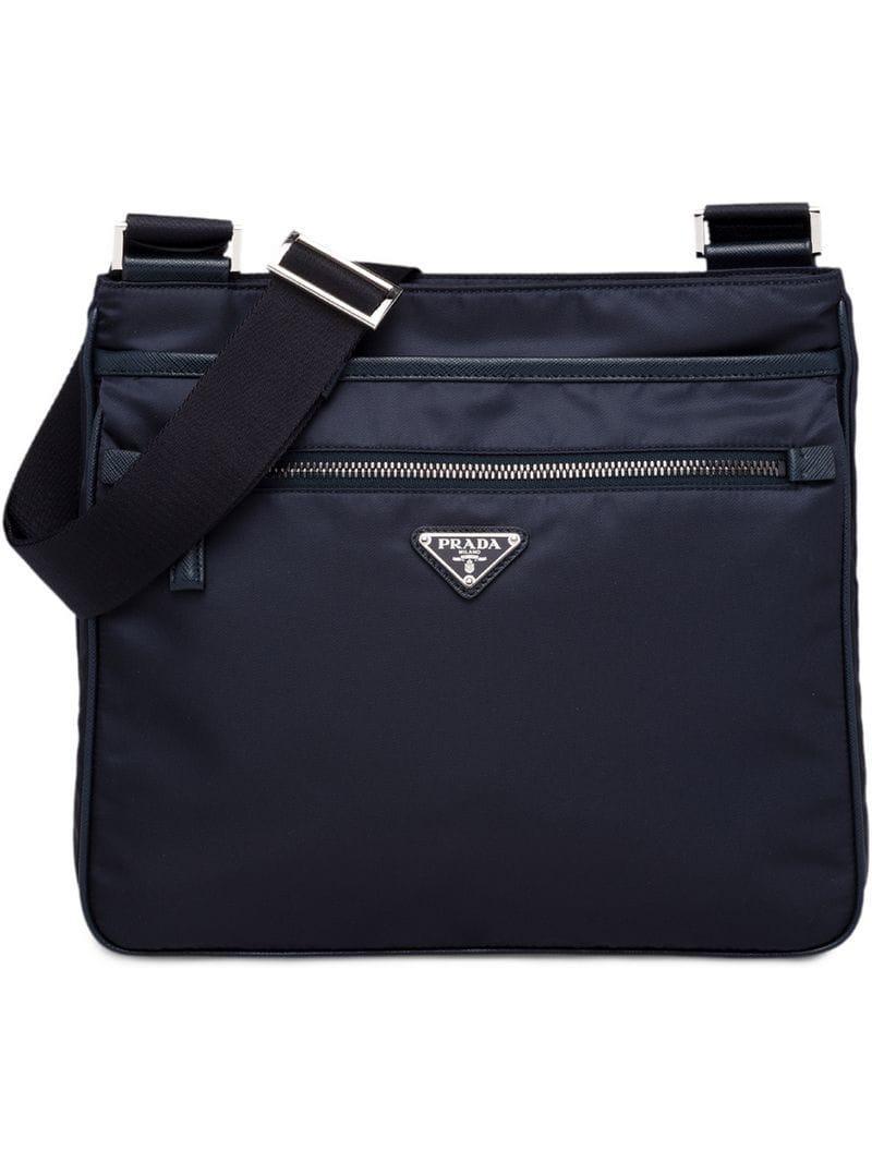 0ddff6c18d7e Prada Nylon Bag in Blue for Men - Lyst