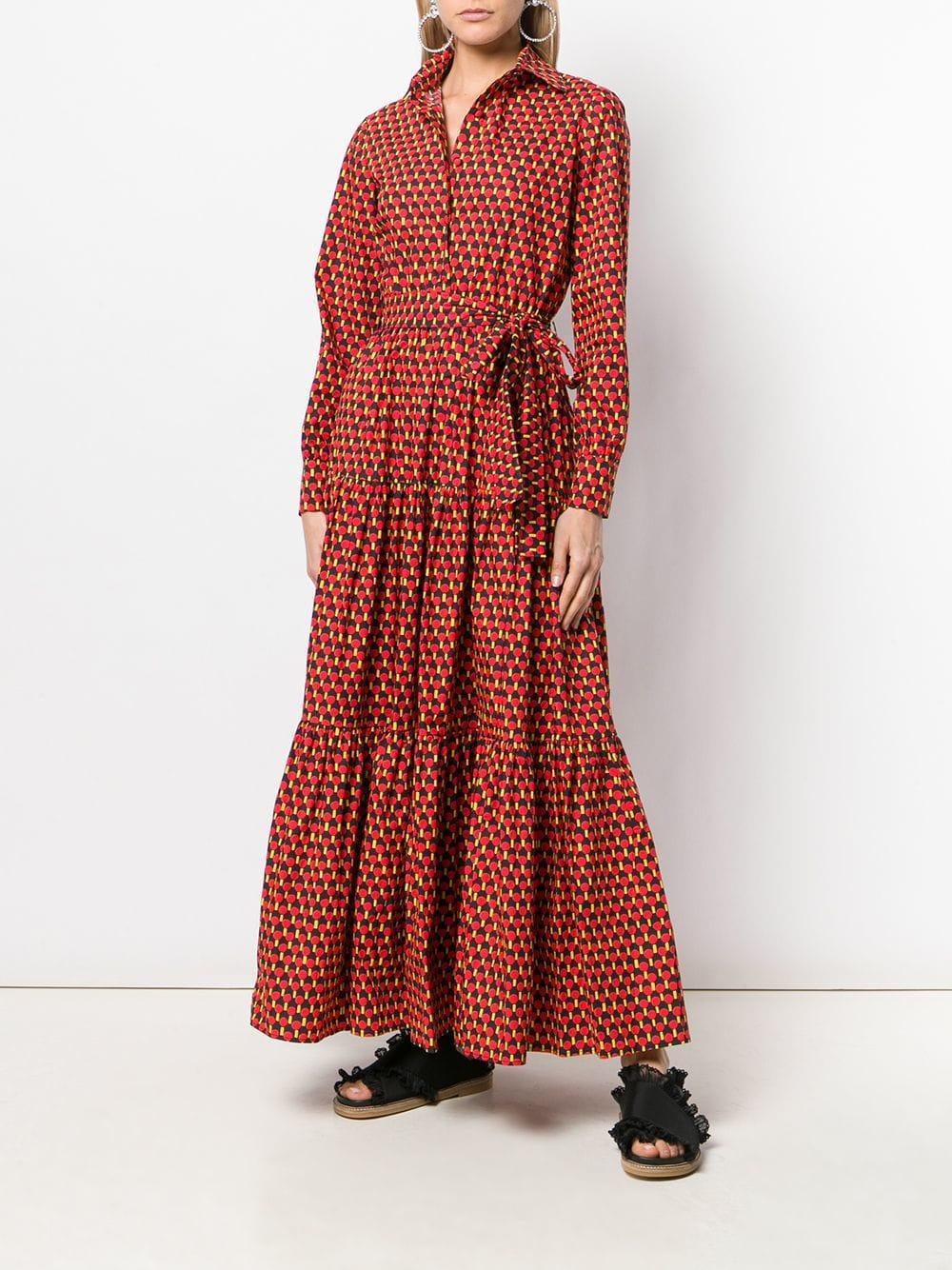 e6dcdec263c31 LaDoubleJ - Red Bellini Dress - Lyst. View fullscreen