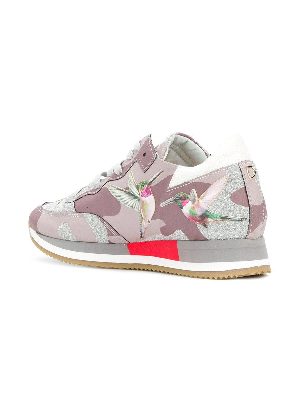 Philippe model Tropez hummingbird sneakers LEqEd