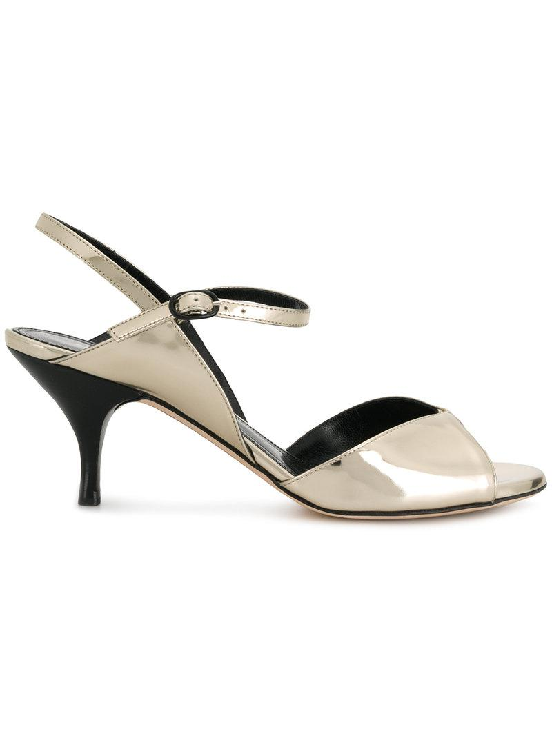 classic cheap online outlet 100% original Nina Ricci Canvas Ankle Strap Sandals sale with mastercard discount tumblr 00ojLP