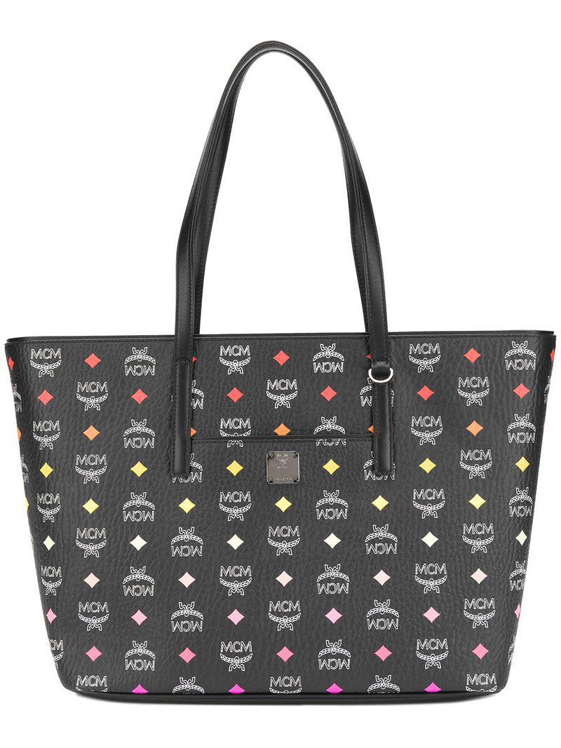 f1d1223d1001 Lyst - Mcm Anya Tote Bag in Black