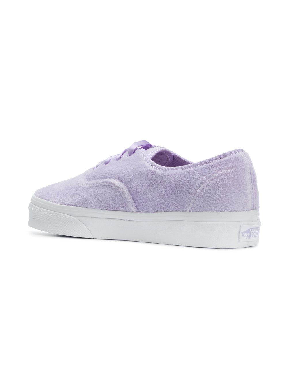 2f97e639a47 Lyst - Vans Authentic Furry Sneakers in Purple