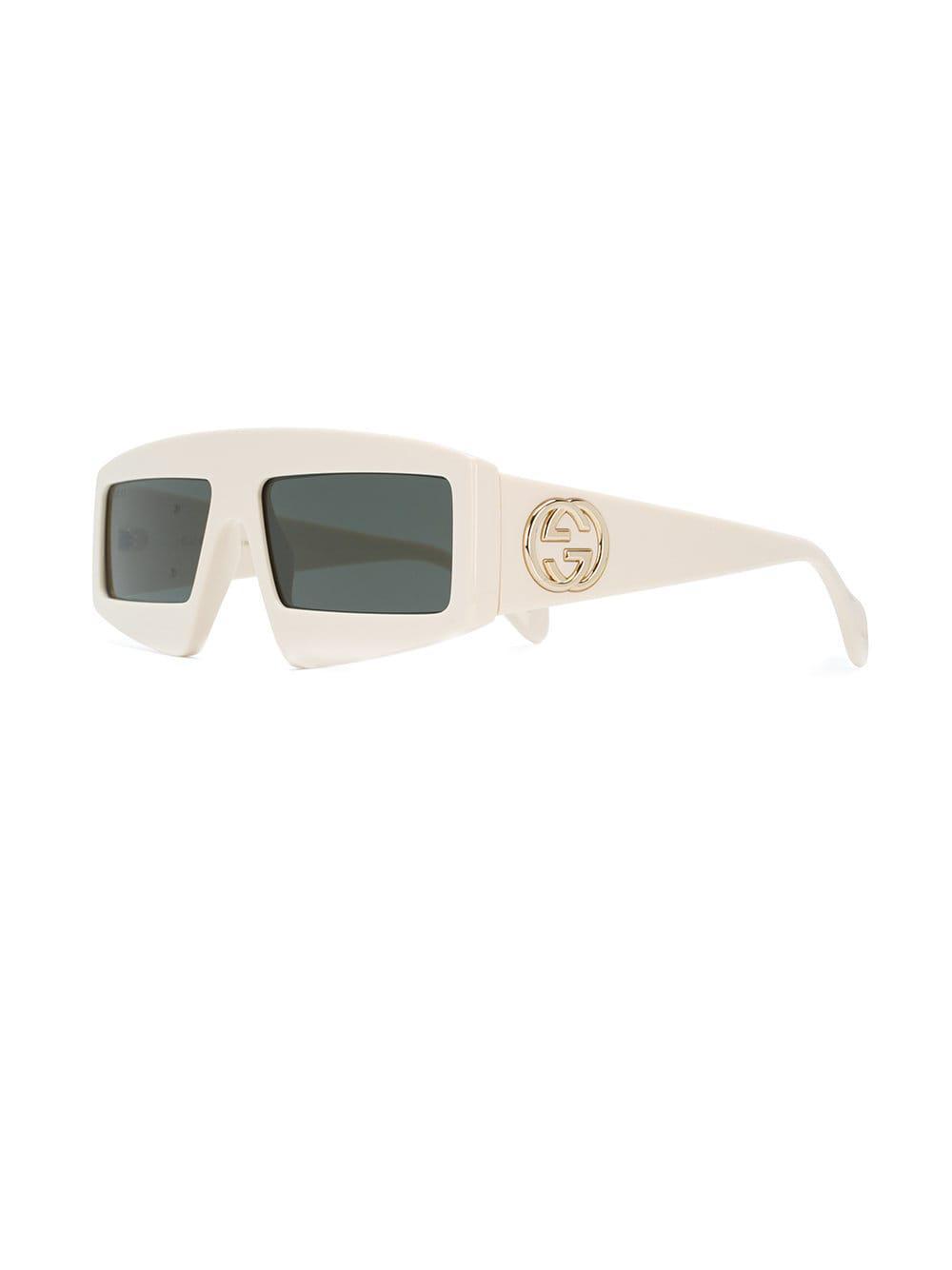 111086f228 Gucci GG Square Frame Sunglasses - Save 2% - Lyst