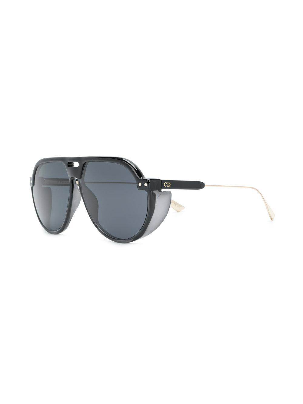 f9d9f08c59 Dior Dior Club 3 Sunglasses in Black - Lyst