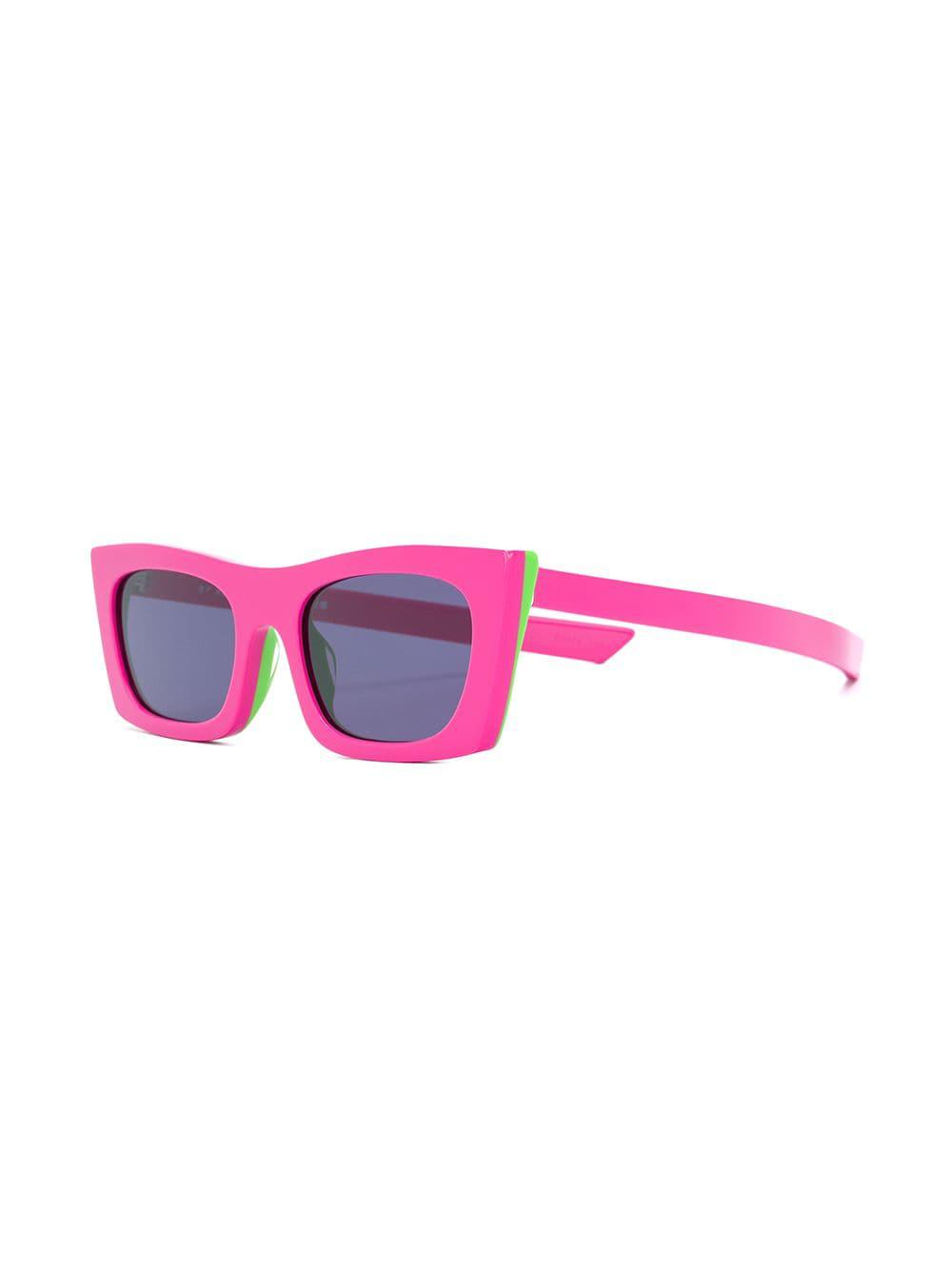 d396260ec1 Lyst - Retrosuperfuture Fred Square Frame Sunglasses in Pink - Save 2%