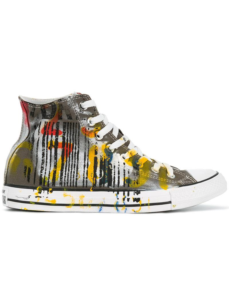 Converse patterned hi-top sneakers explore online clearance 2014 big sale cheap price cheap sale with credit card free shipping discount cVYKRIx