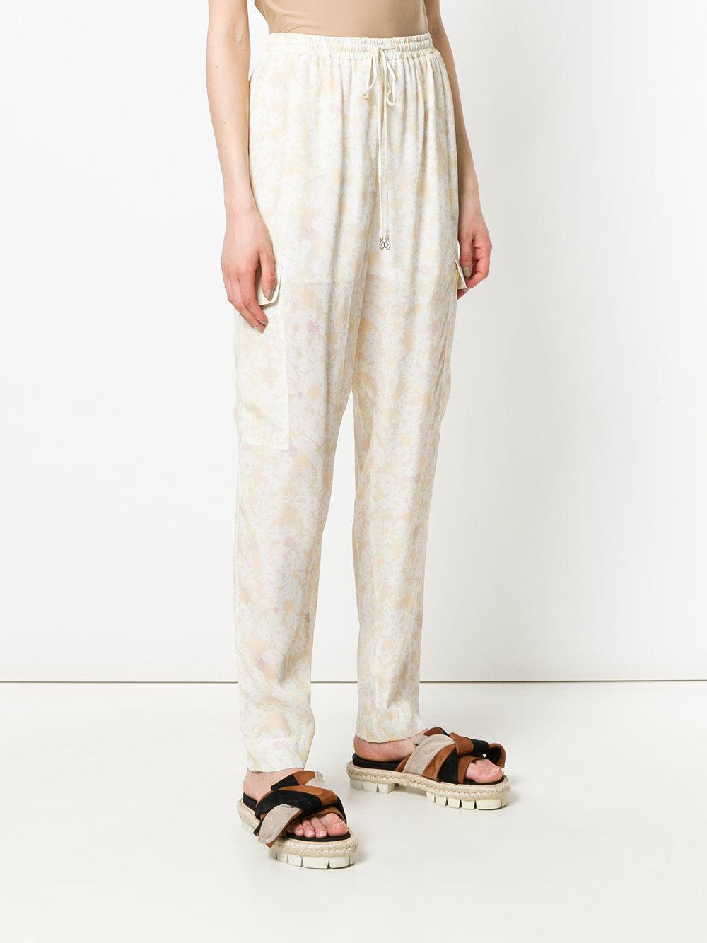 See By Chloé floral print relaxed trousers Outlet Latest Outlet Get To Buy UprH1bpZM