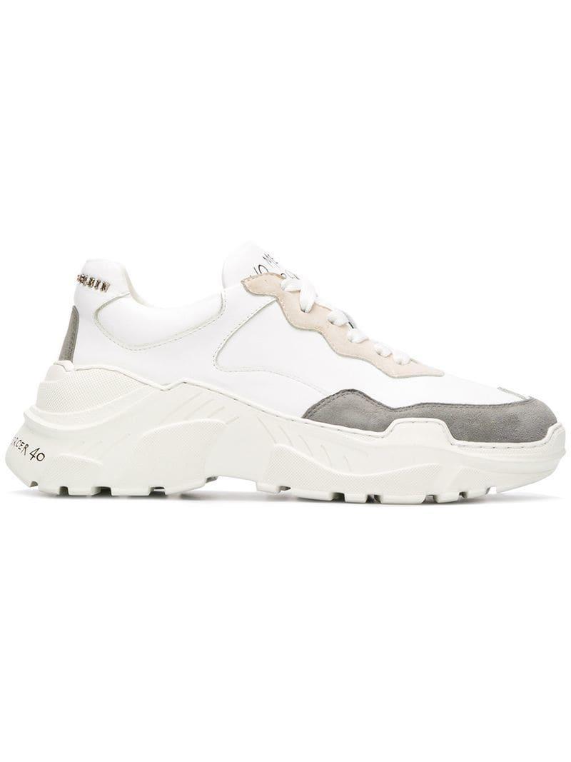 Lyst Mercy White Philipp Sneakers Plein No In SqSnrO0