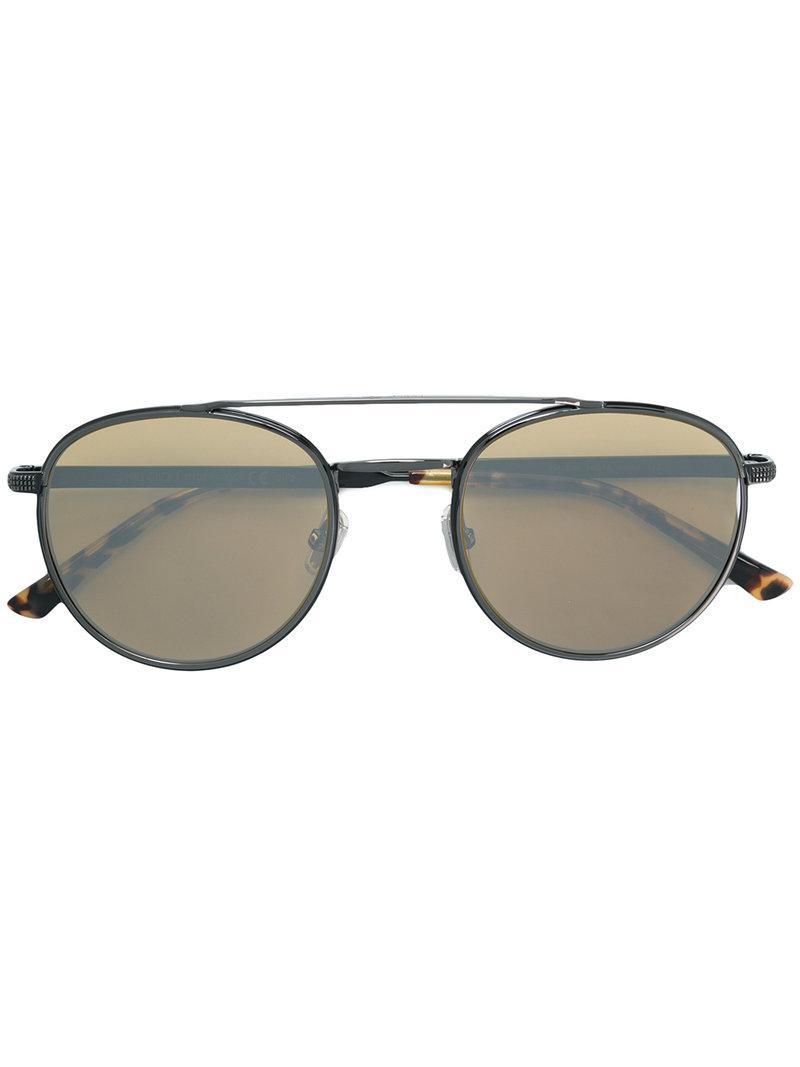 bbb9ae0b5e3 Jimmy Choo Dave 52 Sunglasses in Black for Men - Lyst